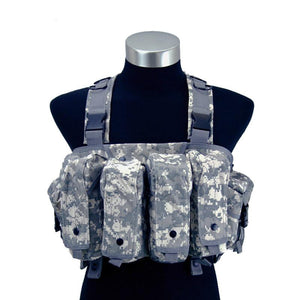 Camouflage Multifunctional Combat Chest Rig - Tactical Cave