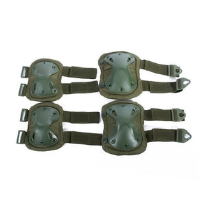 Elbow/Knee Gear Pads - Tactical Cave