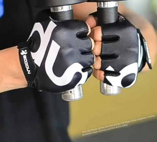 Fingerless Non Slip Workout Gloves - Tactical Cave