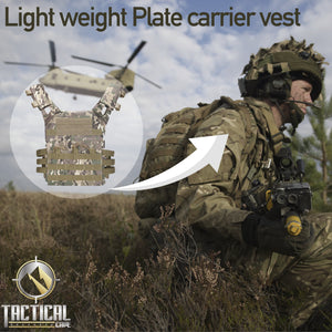 Light Weight Plate Carrier Vest - Tactical Cave