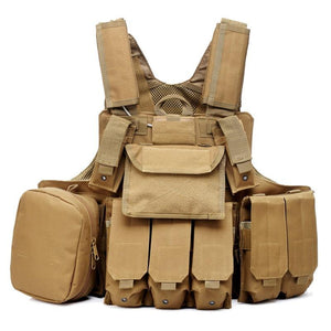 Outdoor camouflage multifunctional tactical vest - Tactical Cave