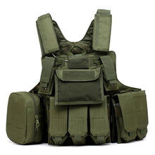 Load image into Gallery viewer, Outdoor camouflage multifunctional tactical vest - Tactical Cave