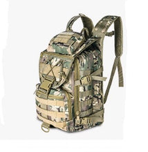 Load image into Gallery viewer, Outdoor mountaineering bag male multi-function waterproof tactical backpack attack package army fan rucksack camouflage backpack - Tactical Cave