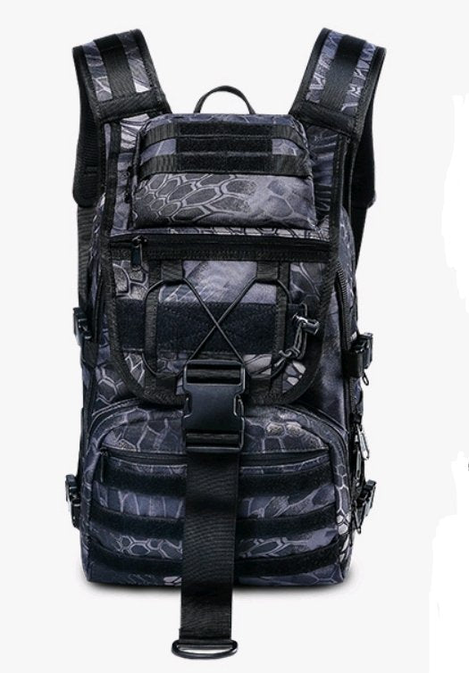Outdoor mountaineering bag male multi-function waterproof tactical backpack attack package army fan rucksack camouflage backpack - Tactical Cave