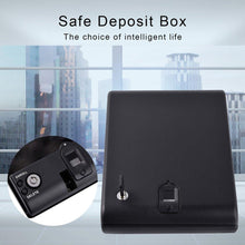 Load image into Gallery viewer, Solid Steel Portable Gun Safe with Fingerprint Access - Tactical Cave