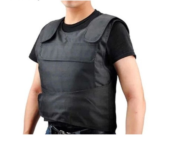 Stab Resistant Tactical Vest With Plate Carrier - Tactical Cave