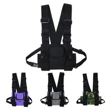 Load image into Gallery viewer, Tactical Camouflage Chest Harness Bag Rig - Tactical Cave