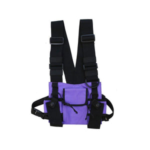 Tactical Camouflage Chest Harness Bag Rig - Tactical Cave