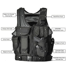 Load image into Gallery viewer, Tactical Military Vest - Tactical Cave