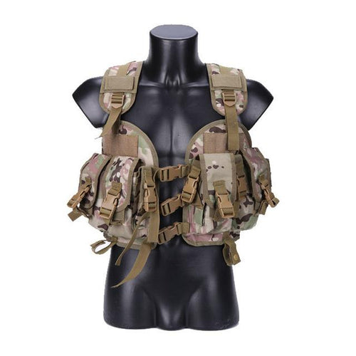 Tactical Seal Style Combat Vest - Tactical Cave