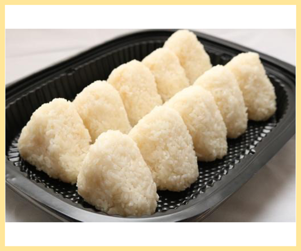 Plain Onigiri Set (10 pieces)