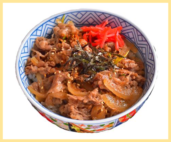 Gyu Don (Beef Rice Bowl)