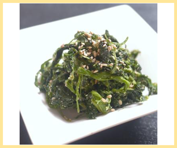 Spinach with Sesame