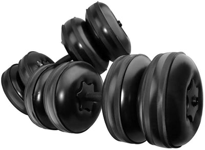 Adjustable 25kg Water-filled Dumbbell set