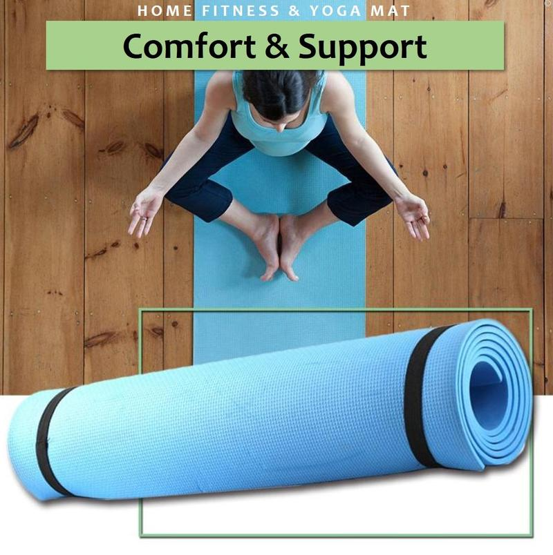 Non-slip HOME FITNESS & YOGA MAT