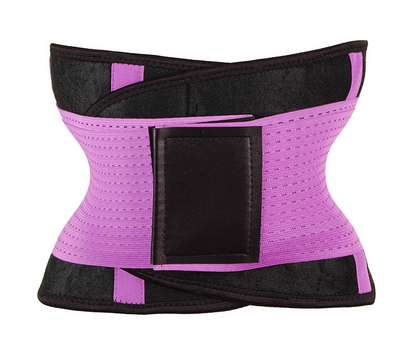 Waist trainer and back support belt