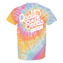 Load image into Gallery viewer, QGR Tie Dye Logo Tee
