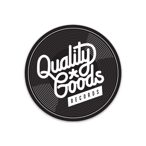 Quality Goods Records Circle Sticker