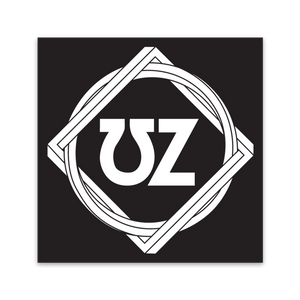 UZ Square Sticker