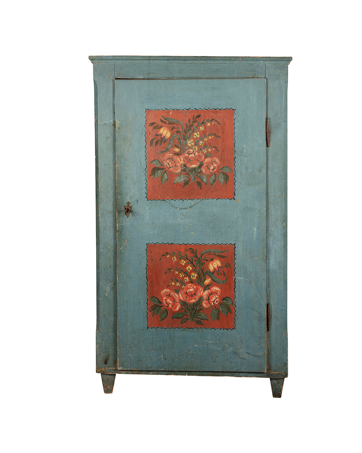 Armoire polychrome alsacienne