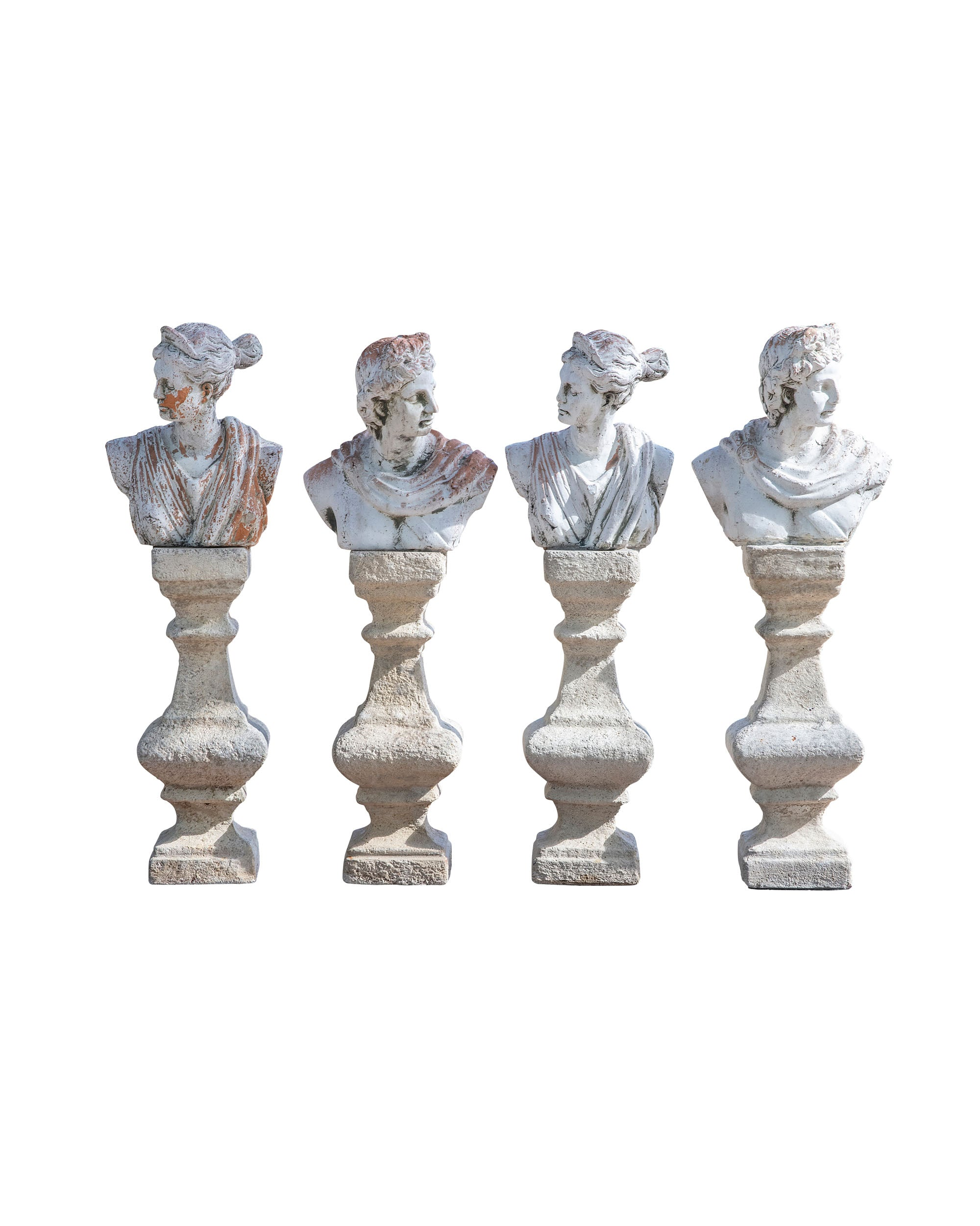 Set of four classic figures