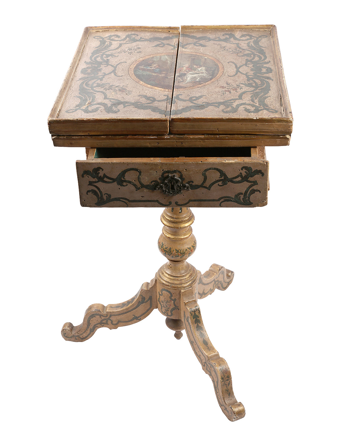 Venetian gaming table. XVIIIth century