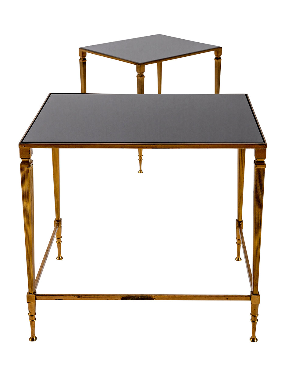 Ensemble de tables d'appoint style Empire