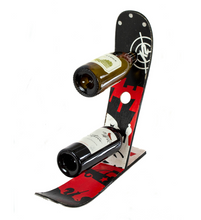 Load image into Gallery viewer, Ski Wine Bottle Holder