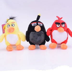 One Piece 12cm/20cm Popular Game The Birds With Angry Plush Toys Cute Kawaii Animal Stuffed Plush Toys Dolls Child Gift
