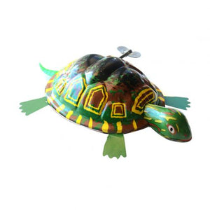 Kids Wind up Toy Classic Iron Moving Tortoise Wind up Clockwork Toy Kids Hobby Collectible Gift For Kids Toy