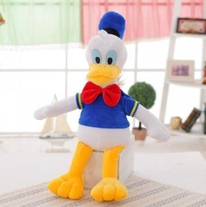 Hot 50cm classical popular stuffed plush toy lovely Mickey Minnie goofy Pluto Newborn player Toy for Children Christmas Gifts