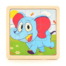 Load image into Gallery viewer, 1PCS 3D Paper Jigsaw Puzzles for Children Kids Toys   Baby  Educational Puzles