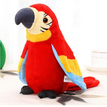 Load image into Gallery viewer, Electronic Talking Parrot  Plush Toys Cute Speaking and Recording Repeats Waving Wings Electric Bird Stuffed Plush Toy Kids Toy