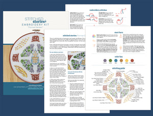 PDF Pattern: Formal Garden (download file)