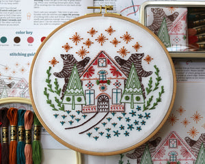Embroidery Kit: Ursa Duet
