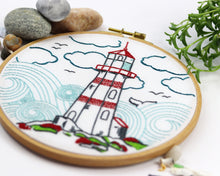 Load image into Gallery viewer, Embroidery Kit: Lighthouse