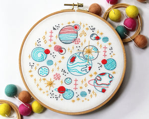 Embroidery Kit: Galaxy