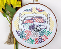 Embroidery Kit: Catnap