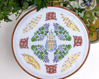 Embroidery Kit: Formal Garden