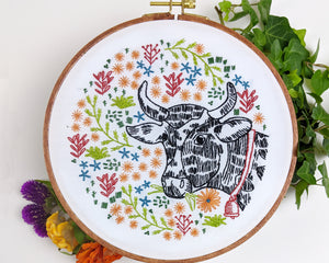 Embroidery Kit: Bessie's Blossoms