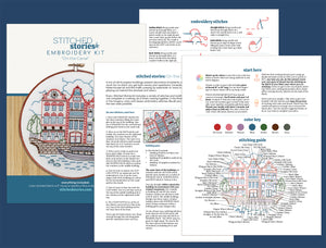 PDF Pattern: On the Canal (download file)