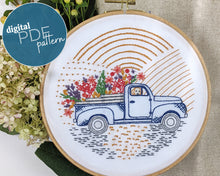 Load image into Gallery viewer, PDF Pattern: Vintage truck (download file)