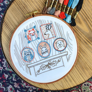 Rogues' Gallery Pre-printed Fabric Embroidery Pattern