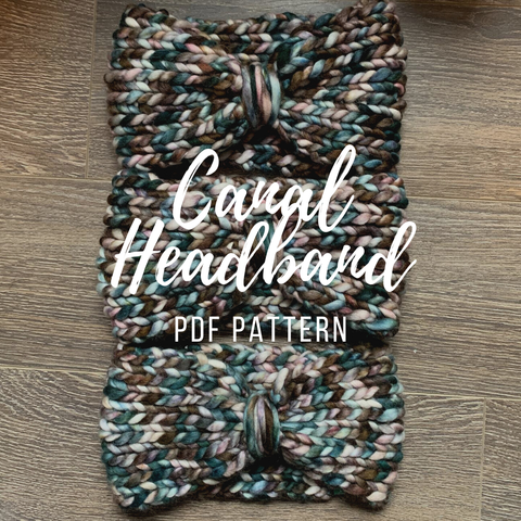 Pattern Only Canal Headband