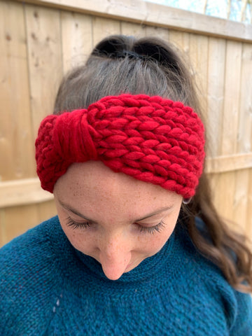 Canal Headband Knitting Pattern
