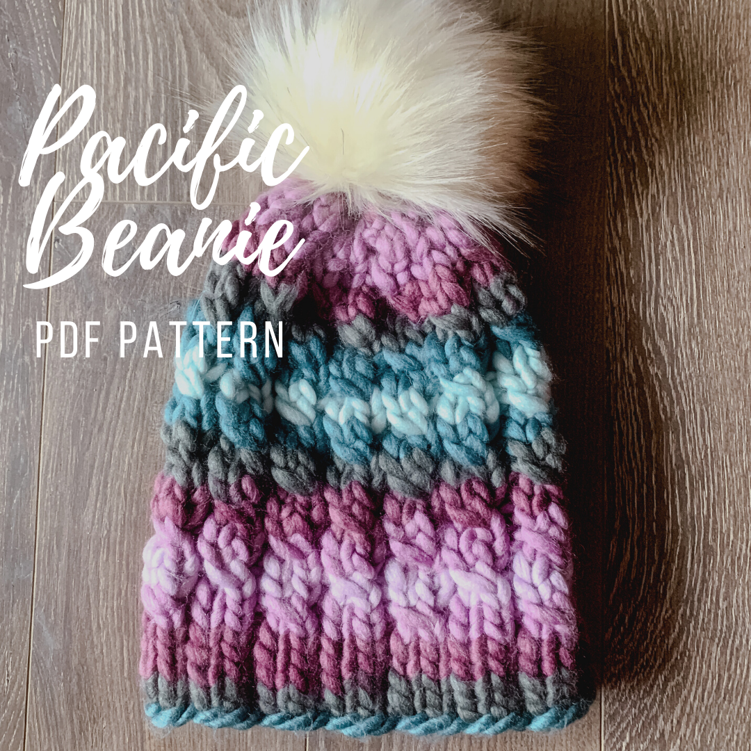 KNITTING PATTERN: Pacific Beanie