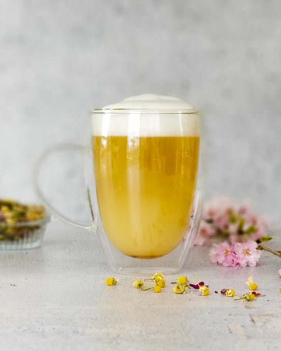 Calming Chamomile Honey Latte