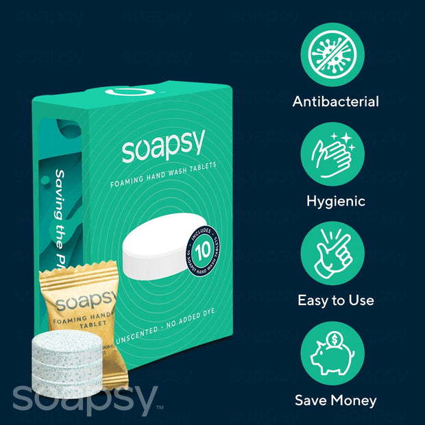 Soapsy Foaming Soap Tablets