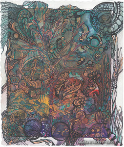 Select Choice, 2020 Big Bear (So Cal) Zentangle Retreat: Tangle-Inspired Botanicals, Dancing with Petals & Leaves