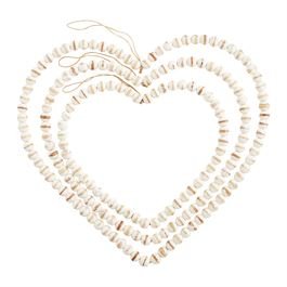 Beaded Icon Hangers Heart Small